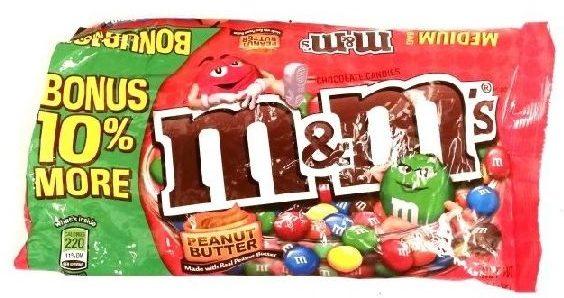 Mars, M&M's Peanut Butter, kolorowe draże z nadzieniem o smaku masła orzechowego, copyright Olga Kublik