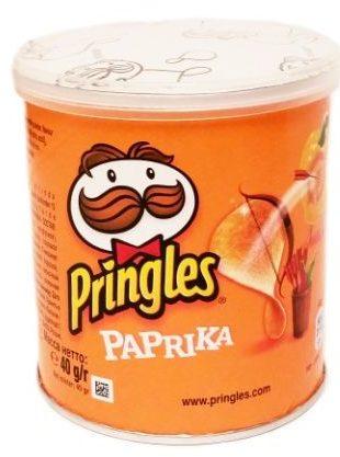 Pringles, Paprika, chipsy paprykowe, copyright Olga Kublik