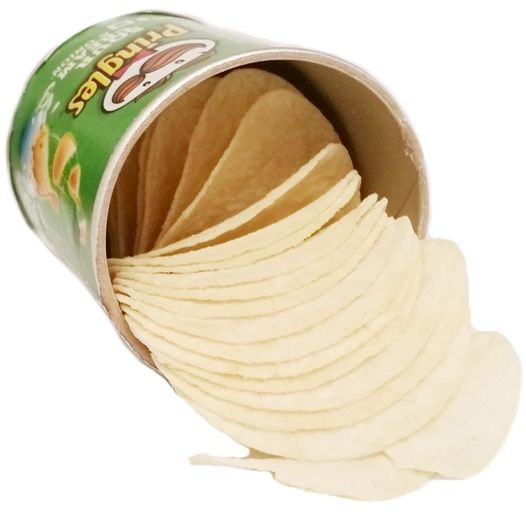 Pringles, Sour Cream & Onion, chipsy o smaku śmietany i cebuli, copyright Olga Kublik