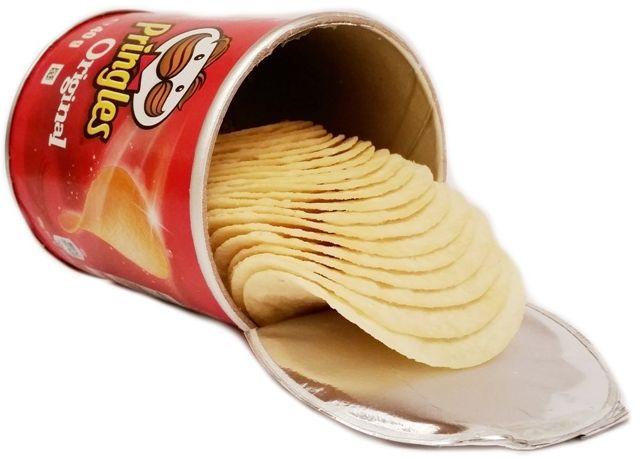 Pringles, Original, chipsy solone, copyright Olga Kublik