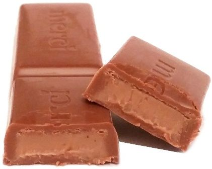 Storck, Merci czerwone Praline-creme czekoladka pralinowa, copyright Olga Kublik