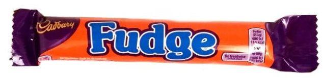 Cadbury, Fudge, baton krówkowy w mlecznej czekoladzie, copyright Olga Kublik