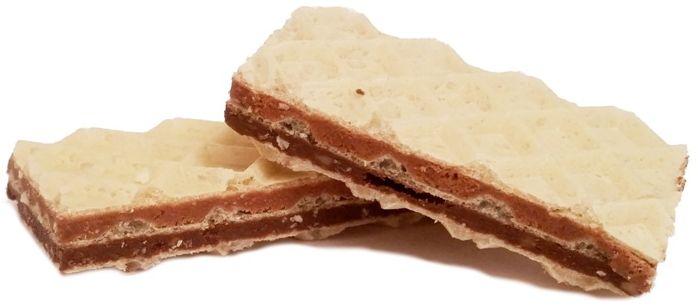 Goplana, Grześki gofree Chocolate with Hazelnuts, wafle gofrowe z nadzieniem czekoladowym i orzechami laskowymi, copyright Olga Kublik