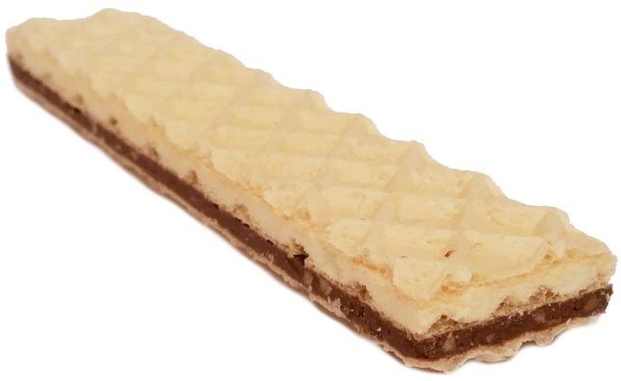 Goplana, Grześki gofree Vanilla-Chocolate with Hazelnuts, wafle gofrowe z kremami o smaku waniliowym i czekoladowym, copyright Olga Kublik