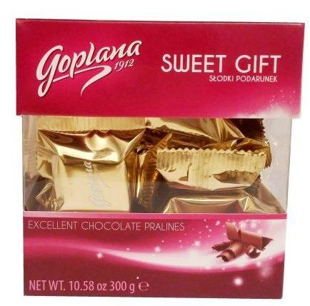 Goplana, Sweet Gift czekoladki mleczne z alkoholizowanym kremem o smaku czekoladowym, copyright Olga Kublik