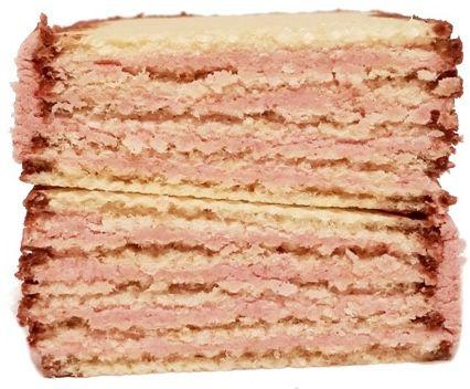 I.D.C. Polonia, Góralki śmietankowo-wiśniowe, wafle z kremem i polewą kakaową, copyright Olga Kublik