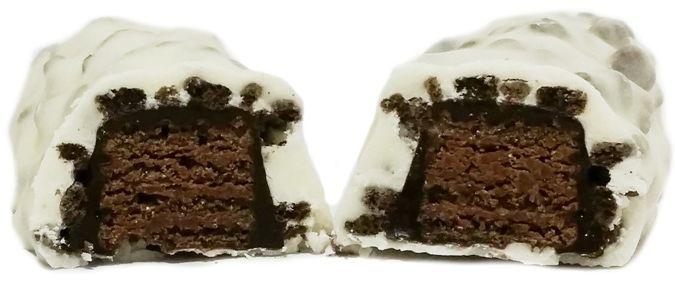 Nestle, Lion Black White, limitowany baton kakaowy z karmelem w białej polewie, copyright Olga Kublik