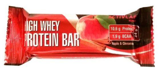REGIS, Activlab Sport High Whey Protein Bar Apple and Cinnamon, baton proteinowy o smaku jabłek i cynamonu, copyright Olga Kublik