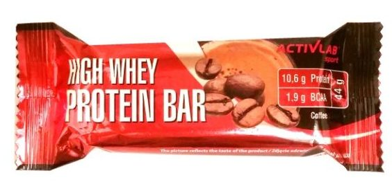 REGIS, Activlab Sport High Whey Protein Bar Coffee, baton proteinowy o smaku kawy, copyright Olga Kublik