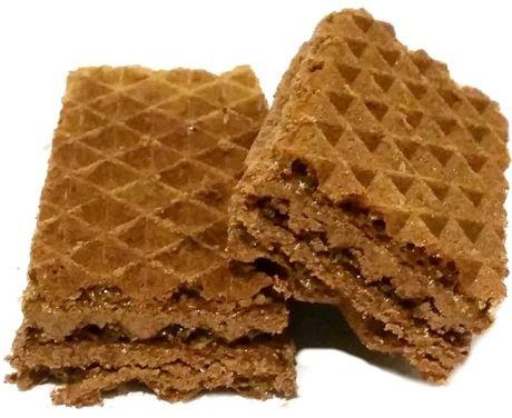 Wawel, Wafel o smaku kakaowym bez dodatku cukru, dietetyczne słodycze typu gofrowego, copyright Olga Kublik