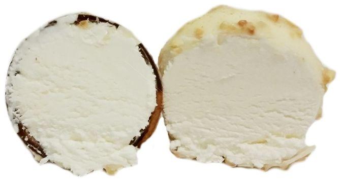 AB Pieno zvaigzdes, rożek lodowy kokosowo-śmietankowy z polewą a la Raffaello, Svalya Kokos, lody z Biedronki, copyright Olga Kublik