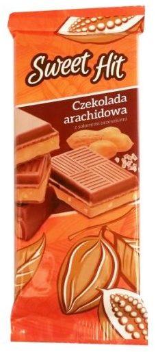 Millano-Baron, Sweet flit Czekolada arachidowa z kremem o smaku masła orzechowego i solonymi orzeszkami z Żabki, copyright Olga Kublik