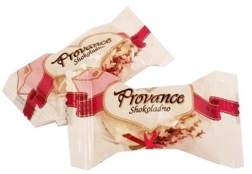 Shokoladno, Provance - podrabiane Raffaello, pralinki z kremem i wiórkami kokosowymi, copyright Olga Kublik
