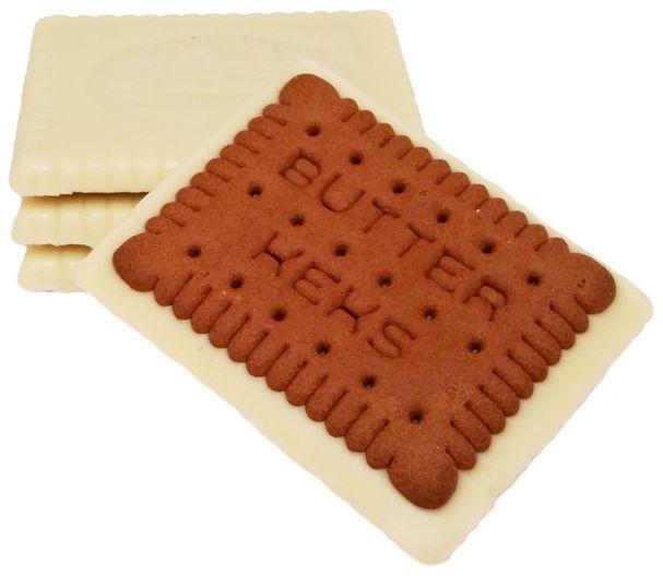 Sondey, Herbatniki kakaowe w białej czekoladzie, ciastka z Lidla, copyright Olga Kublik