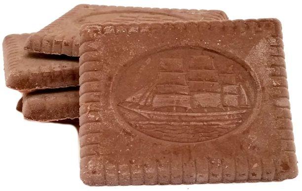 Sondey, Herbatniki z czekoladą deserową ciastka z ciemną czekoladą z Lidla, copyright Olga Kublik