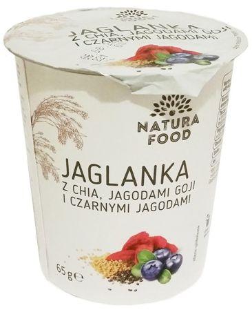 Bruggen, Natura Food Jaglanka z chia, jagodami goji i czarnymi jagodami, copyright Olga Kublik