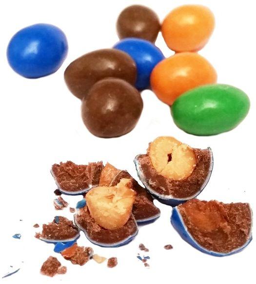 Mars, Peanut M&M's, kolorowe draże z fistaszkami, copyright Olga Kublik