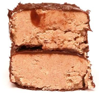 Vobro, Halvi, baton o smaku chałwy w polewie kakaowej, copyright Olga Kublik