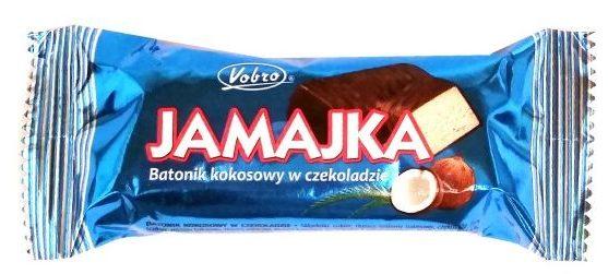 Vobro, Jamajka, batonik kokosowy w polewie kakaowej, copyright Olga Kublik