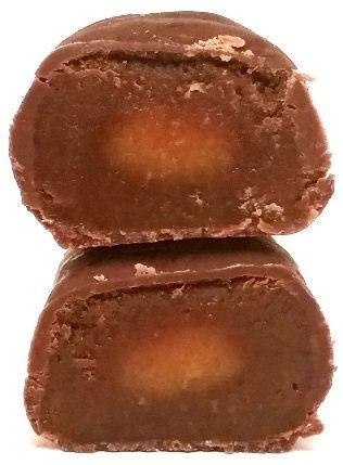 Vobro, cukierek czekoladowy z karmelem Caramelli, copyright Olga Kublik