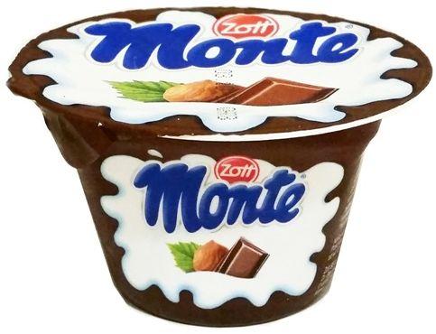 Zott, Monte, deser mleczny orzech czekolada, copyright Olga Kublik