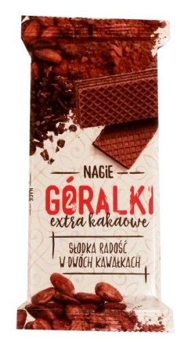 I.D.C. Polonia, Nagie Góralki extra kakaowe, wafle bez czekolady przekładane kremem kakaowym, copyright Olga Kublik
