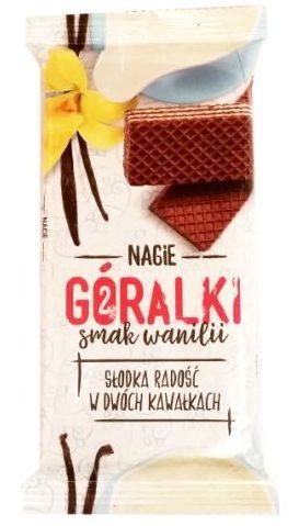 I.D.C. Polonia, Nagie Góralki smak wanilii, wafle kakaowe przekładane kremem waniliowym, copyright Olga Kublik