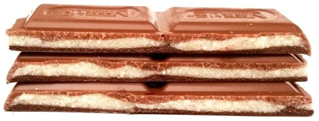 Nestle, Corazon de Tres Chocolates, czekolada mleczna, biała i ciemna - połączenie czekolad, copyright Olga Kublik