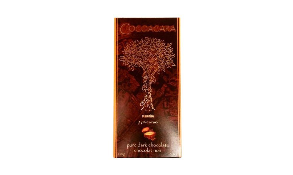 Terravita, Cocoacara 77% cacao pure dark chocolate