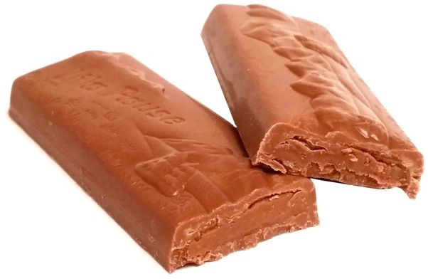 Milka, Lila Pause Nougat-Creme, baton z mlecznej czekolady z kremem o smaku nugatu, copyright Olga Kublik