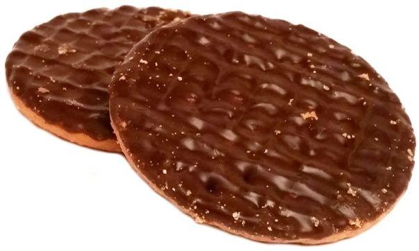 McVities, Digestive 2 Dark Chocolate Wheatmeal Biscuits, zbożowe herbatniki z ciemną czekoladą, brytyjskie ciasteczka, copyright Olga Kublik