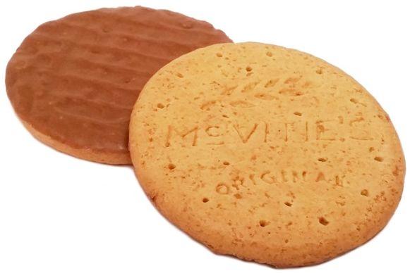 McVities, Digestive 2 Milk Chocolate Wheatmeal Biscuits, zbożowe herbatniki z mleczną czekoladą, ciastka z Wielkiej Brytanii, copyright Olga Kublik