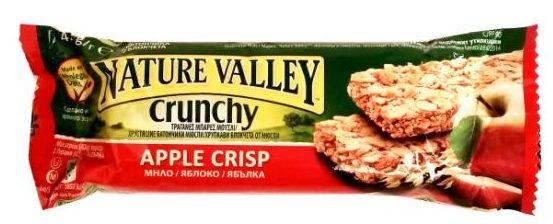 Nature Valley, Crunchy Apple Crisp, baton owsiany o smaku jabłka z cynamonem, copyright Olga Kublik