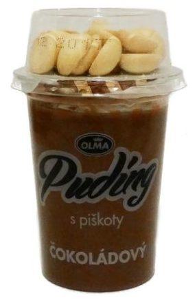 Olma, Pudding cokoladovy s piskoty, czekoladowy pudding bez glutenu z biszkoptami, copyright Olga Kublik