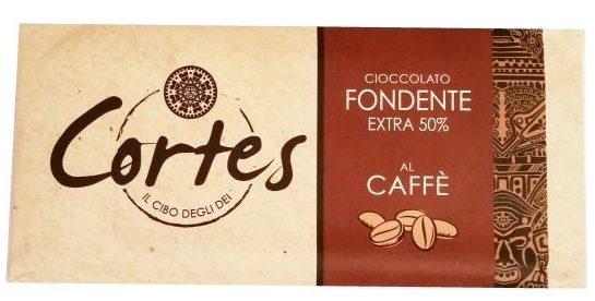 Sirena Cioccolato, Cortes Cioccolato Fondente Extra 50 cacao al Caffe, ciemna czekolada kawowa, copyright Olga Kublik