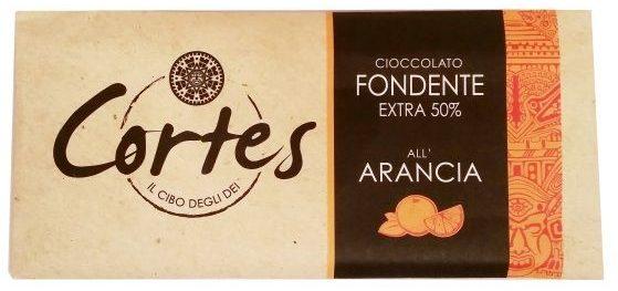 Sirena Cioccolato, Cortes Cioccolato Fondente Extra 50 cocoa all Arancia, ciemna czekolada pomarańczowa, copyright Olga Kublik