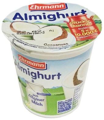 Ehrmann, Almighurt Cocosnuss, jogurt kokosowy, copyright Olga Kublik