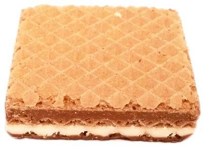 Manner, Snack Milch Schoko Cocos, kruchy wafelek z kremem mlecznym i kremem czekoladowym z wiórkami kokosowymi oblany czekoladą, copyright Olga Kublik