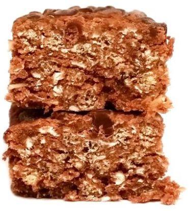 My Protein, Skinny Flapjack Chocolate Flavour, niskokaloryczny wegański baton owsiany z czekoladą, copyright Olga Kublik