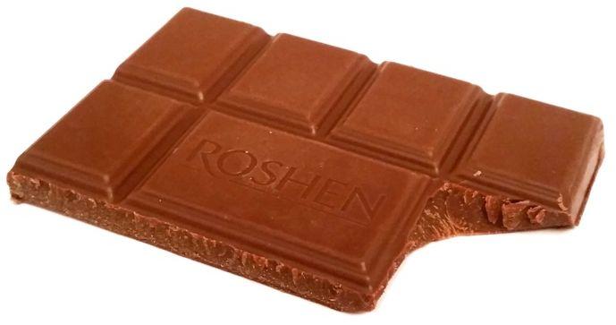 Roshen, Olenka, ukraińska mleczna czekolada, copyright Olga Kublik