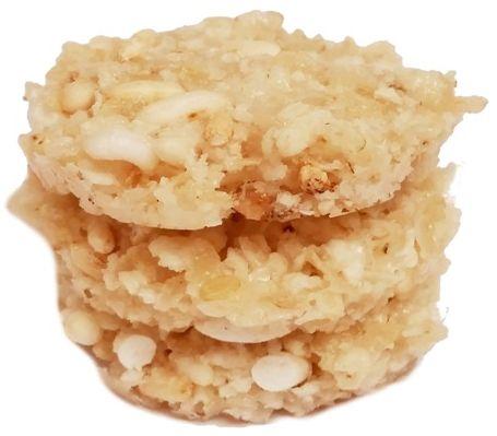 Ania, Fun cookies BiO fajne ciasteczka Ryżowe, ekologiczne wegańskie ciastka z łamu waflowego, preparowanego ryżu i syropu, copyright Olga Kublik
