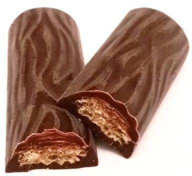 Ferrero, Duplo Zartbitter, kruchy batonik z waflem i kremem orzechowo-czekoladowym skryty pod ciemną czekoladą, copyright Olga Kublik