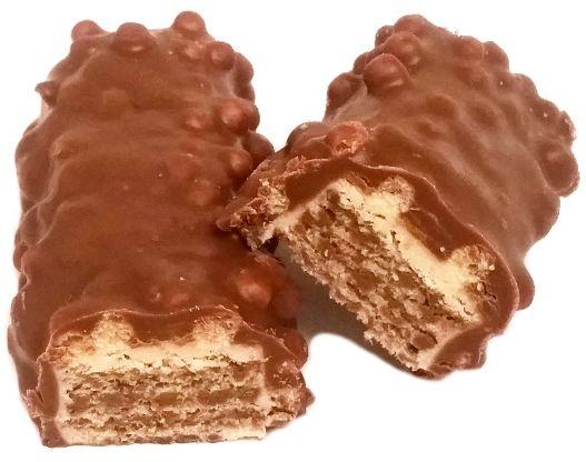 Heidi, ChocoVenture Crispy Milk, kruchy batonik z chrupkami zbożowymi, wafel kakaowy w mlecznej czekoladzie, copyright Olga Kublik