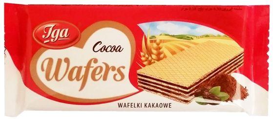 Iga, Cocoa Wafers wafelki kakaowe, copyright Olga Kublik