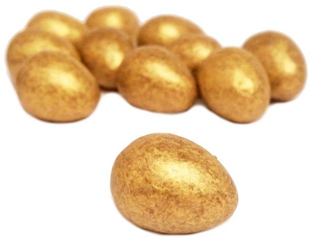Mars, Galaxy Golden Eggs, mleczna czekolada z chrupiącym karmelem i złotą posypką, copyright Olga Kublik
