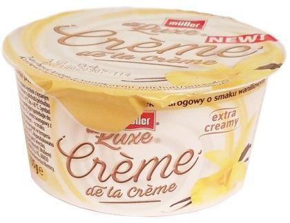 Muller, de Luxe Creme de la Creme Kremowy serek twarogowy wanilia, copyright Olga Kublik