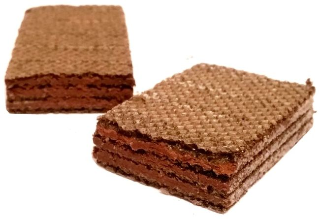 Nestle, Princessa Brownie, kruche wafle z nadzieniem o smaku czekoladowego ciasta, copyright Olga Kublik