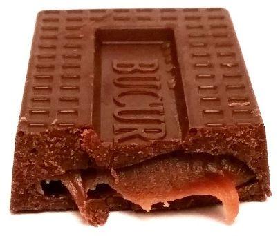 ROM, ROM Cel Dublu, baton czekoladowy z gęstym nadzieniem kremem rumowym, copyright Olga Kublik