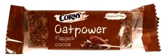 Schwartauer Werke, Corny Oatpower Flapjack cocoa, baton owsiany o smaku kakaowym, copyright Olga Kublik