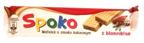Wacuś, Spoko Wafel kakaowy, wafel bez czekolady z kremem kakaowym, copyright Olga Kublik